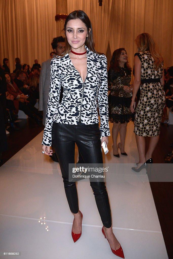 Emanuel Ungaro : Front Row - Paris Fashion Week Womenswear Spring/Summer 2017