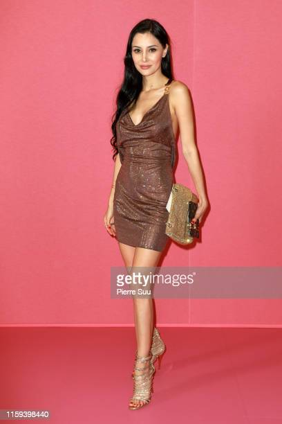 Deborah Hung attends the Georges Hobeika Haute Couture Fall/Winter 2019 2020 show as part of Paris Fashion Week on July 01 2019 in Paris France