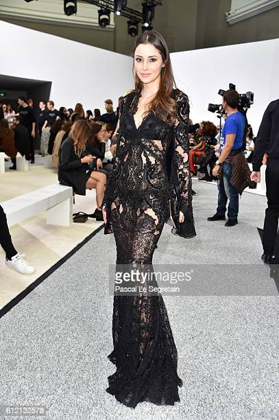 Deborah Hung attends the Giambattista Valli show as part of the Paris Fashion Week Womenswear Spring/Summer 2017 on October 3 2016 in Paris France