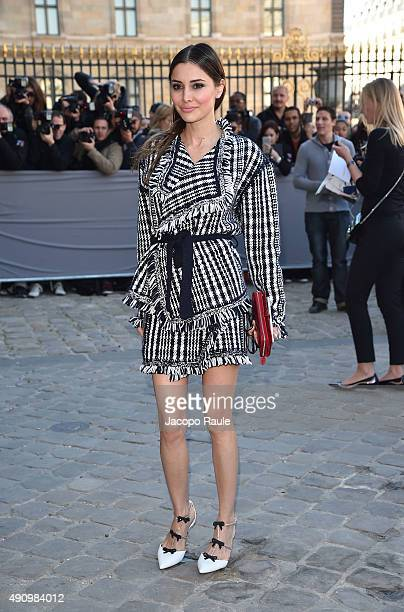 Deborah Hung is arriving at Dior Fashion Show during the Paris Fashion Week S/S 2016 Day 4 on October 2 2015 in Paris France