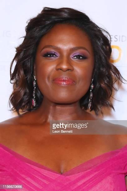 Deborah Joy Winans attends 28th Annual NAACP Theatre Awards at Millennium Biltmore Hotel on June 17 2019 in Los Angeles California