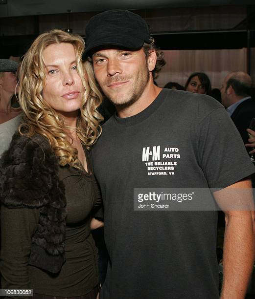 Deborah Kara Unger and Stephen Dorff during 2005 Toronto Film Festival Motorola/Marquee at Lobby Party September 10 2005 at Lobby in Toronto Canada