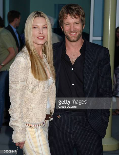 Deborah Kara Unger and Thomas Jane during Stander Los Angeles Premiere Arrivals at ArcLight Theatre in Hollywood California United States