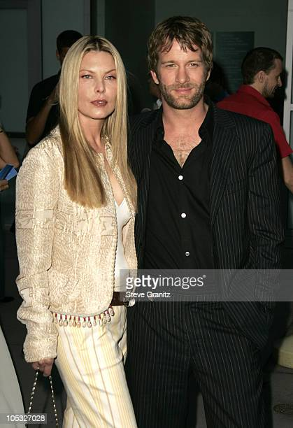 Deborah Kara Unger and Tom Jane during Stander Los Angeles Premiere Arrivals at ArcLight Theatre in Hollywood California United States