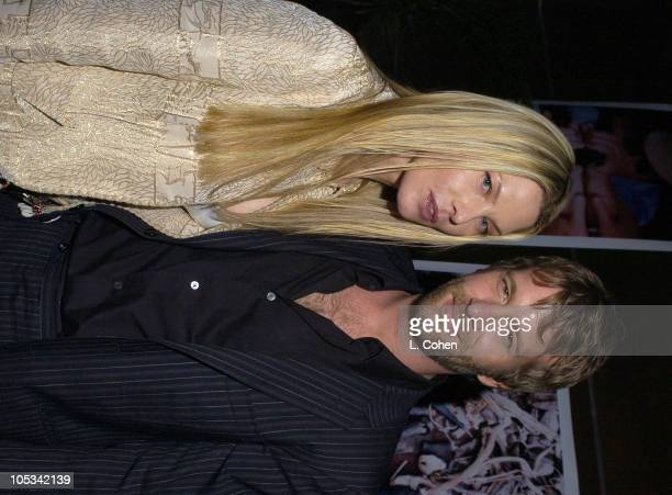 Deborah Kara Unger and Tom Jane during Stander Los Angeles Premiere After Party at Hollywood Vine in Los Angeles California United States