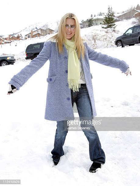 Deborah Kara Unger during 2004 Park City 7 For All Mankind Jeans House at Main Street Mall in Park City Utah United States