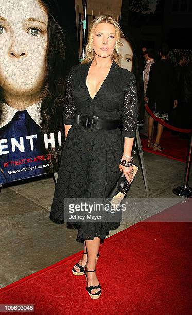 Deborah Kara Unger during Silent Hill Los Angeles Premiere Arrivals at Egyptian Theatre in Hollywood California United States