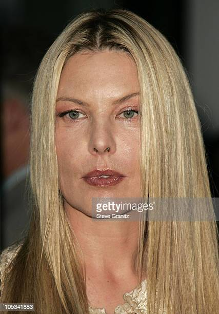 Deborah Kara Unger during Stander Los Angeles Premiere Arrivals at ArcLight Theatre in Hollywood California United States
