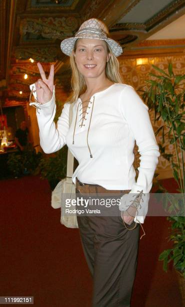 Deborah Kara Unger during The Miami International Film Festival 2003 Between Strangers Screening in Miami Florida United States