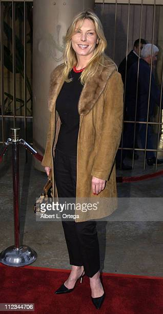 Deborah Kara Unger during The Salton Sea World Premiere at The Egyptian Theater in Hollywood California United States