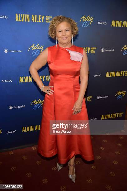 Deborah L Lee attends the Alvin Ailey American Dance Theater's 60th Anniversary Opening Night Gala Benefit at New York City Center on November 28...