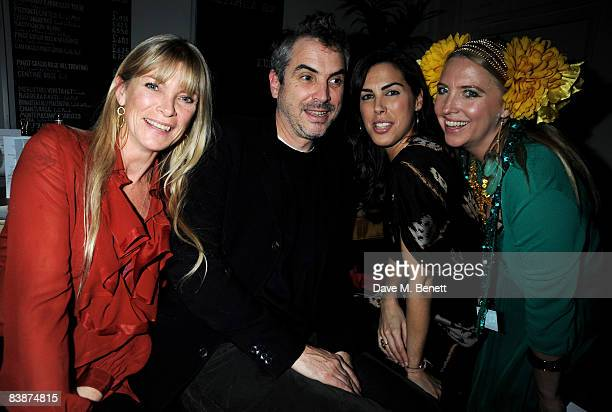 Deborah Leng Alfonso Cuaron Jessica de Rothschild and Katrine Boorman attend The Special Dinner in support of The Warrior Programme at Obika on...