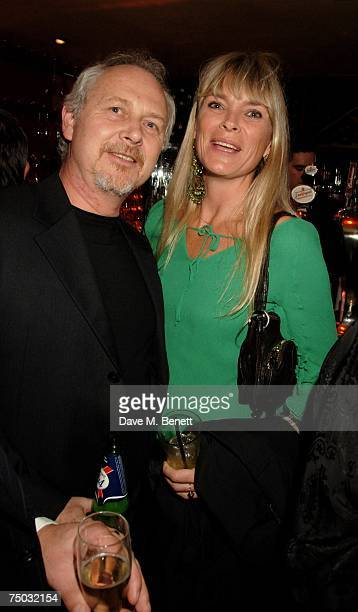 Deborah Leng and guest attend the 18th birthday party of Sticky Fingers at Sticky Fingers on July 4 2007 in London England