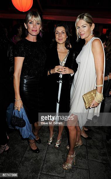 Deborah Leng and Priscilla Phillips attend the The Serpentine Gallery Summer Party at the Serpentine Gallery on September 9 2008 in London England