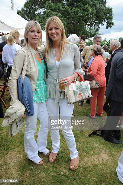 Deborah Leng and Tor Cook attend the Cartier Style et Luxe Concours at the Goodwood Festival of Speed on July 13 2008 in Goodwood England
