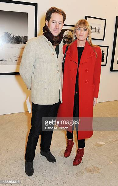Deborah Leng attends a private view of Nikolai Von Bismarck's new photography exhibition 'In Ethiopia' at 12 Francis Street Gallery on December 3...