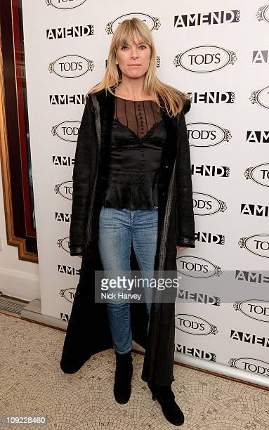Deborah Leng attends a special inhouse screening of 'Sweet Smell of success' hosted by Clive Owen with Ella Krasner Katrina Pavlos presented by TOD's...