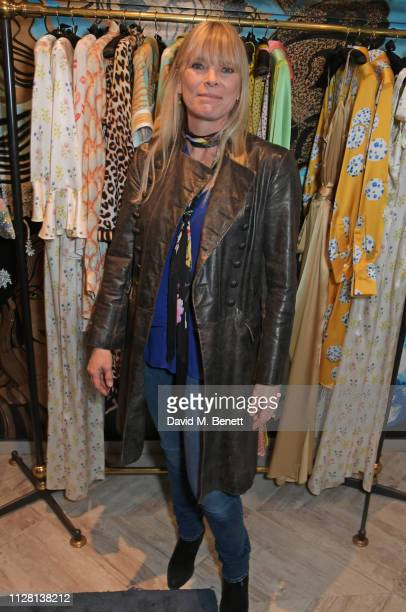 Deborah Leng attends the Bell Hutley Homeware Collection launch at Baar Bass on February 28 2019 in London England