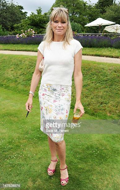 Deborah Leng attends the Cartier Style Luxury Lunch at the Goodwood Festival of Speed on July 1 2012 in Chichester England