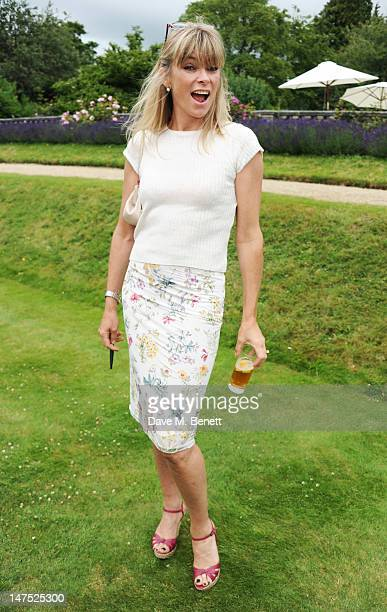 Deborah Leng attends the Cartier Style Luxury Lunch Reception at the Goodwood Festival of Speed on July 1 2012 in Chichester England