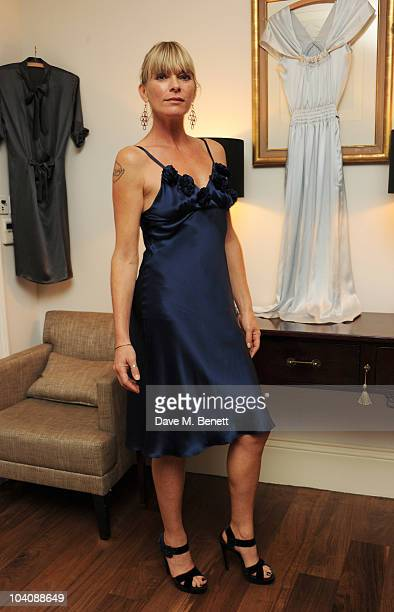 Deborah Leng attends the Fab Couture party at Mortons on September 14 2010 in London England