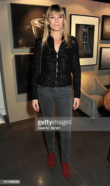 Deborah Leng attends the launch of the Vertu Ti at the London Film Museum Covent Garden on February 12 2013 in London England