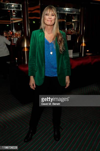 Deborah Leng attends the Platform Presents Poetry Gala 2020 after party in the Dragon Room at Isabel Mayfair on February 9 2020 in London England