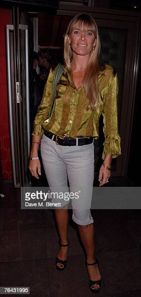 Deborah Leng attends the Private Launch of Twenty8Twelve Sienna and Savannah Miller's new fashion range at The Lonsdale on August 30 2007 in London...