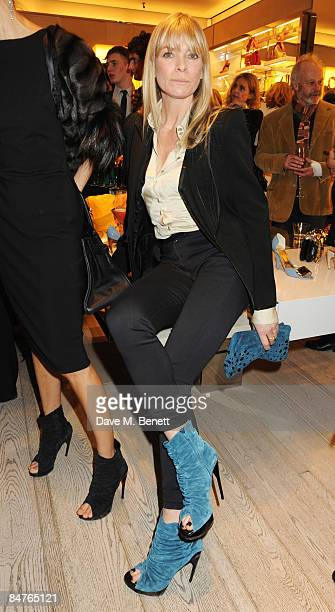 Deborah Leng attends the Roger Vivier Champagne et Chocolat Party at Roger Vivier on February 12 2009 in London England
