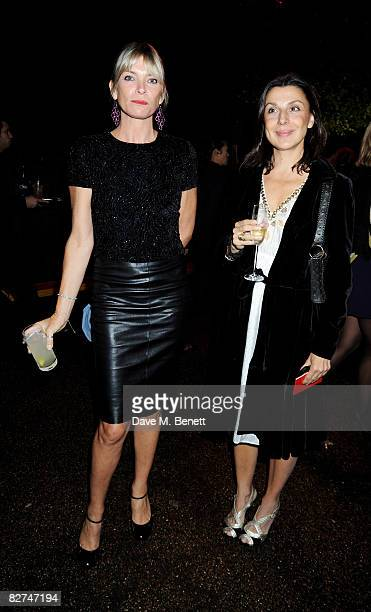 Deborah Leng attends the The Serpentine Gallery Summer Party at the Serpentine Gallery on September 9 2008 in London England