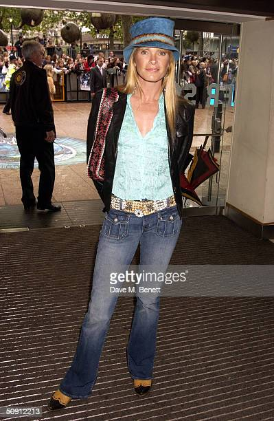 Deborah Leng attends the UK Premiere of Harry Potter And The Prisoner Of Azkaban at the Odeon Leicester Square on May 30 2004 in London The film is...