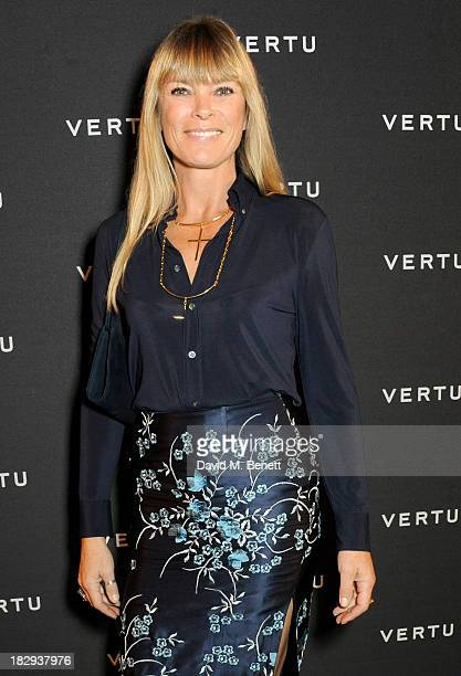 Deborah Leng attends the Vertu launch of the new Constellation smartphone at One Mayfair on October 2 2013 in London England