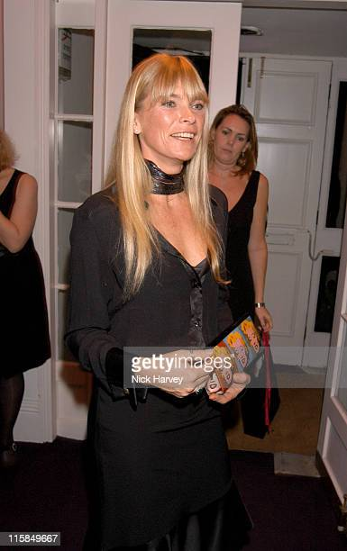 Deborah Leng during Remy Martin / Theo Fennell Hot Ice Party Inside at 25 Belgrave Square in London Great Britain
