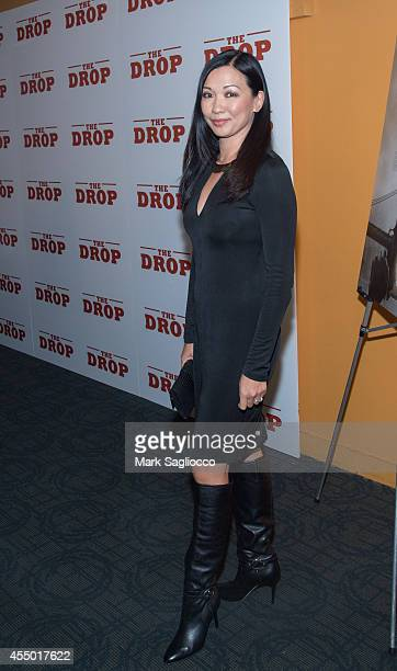 Deborah Lin attends The Drop New York City Premiere at the Sunshine Cinema on September 8 2014 in New York City