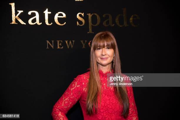 Deborah Lloyd attends Kate Spade presentation during New York Fashion Week on February 10 2017 in New York City