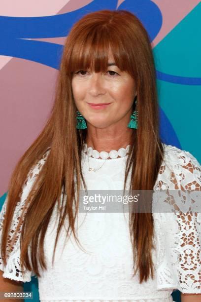 Deborah Lloyd attends the 2017 CFDA Fashion Awards at Hammerstein Ballroom on June 5 2017 in New York City