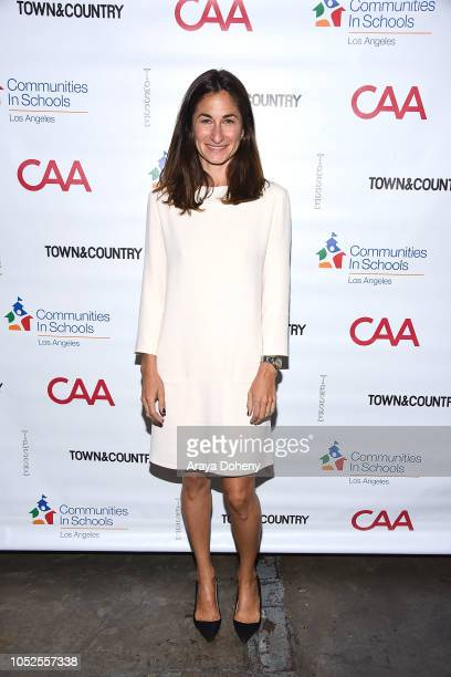 Deborah Marcus attends Communities In Schools LA 'Lunch With a Leader' on October 19 2018 in West Hollywood California
