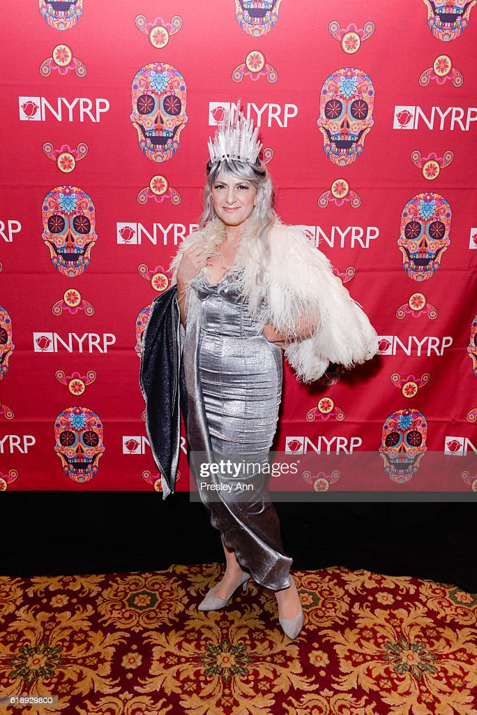 Deborah Marton attends Bette Midler's Annual Hulaween Bash celebrating the New York Restoration Project at the Waldorf=Astoria on October 28, 2016 in New York City.