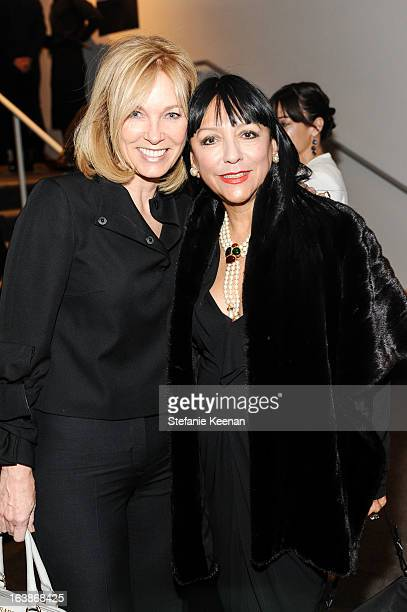 Deborah McLeod and Esthella Provas attend 2013 REDCAT Gala Honoring Catherine Opie And The Walt Disney Company at REDCAT Theater on March 16 2013 in...