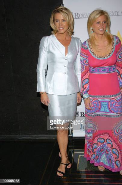 Deborah Norville and Cynthia Lufkin during Benefit Dinner For The Juilliard School and The Royal Academy of Music Arrivals at The Rainbow Room in New...