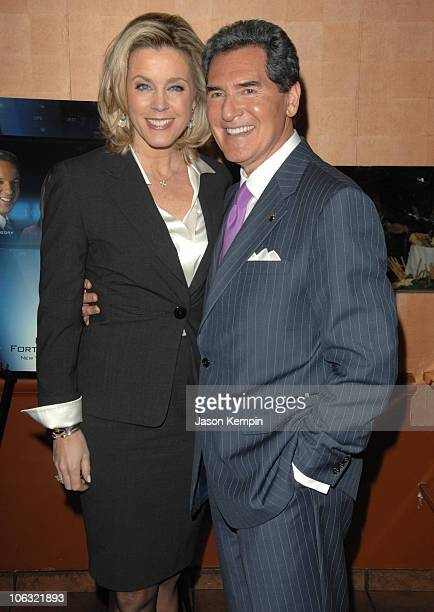 Deborah Norville and Ernie Anastos during Fox 5 Celebrates The 4th Anniversary Of The 10 PM News March 15 2007 at Fresco On The Go in New York City...