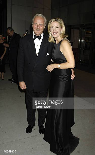 Deborah Norville and husband Karl Wellner during Cocktail Party for TRH The Prince of Wales and The Duchess of Cornwall at the Museum of Modern Art...