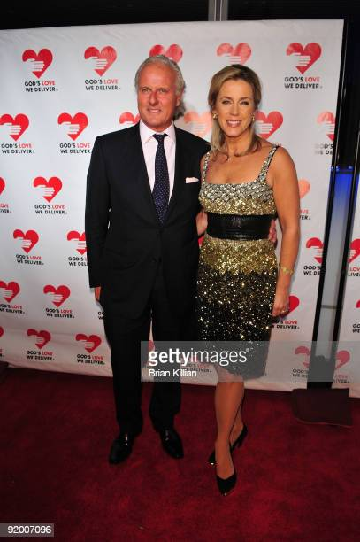 Deborah Norville and Karl Wellner attend the 2009 Golden Heart awards at the IAC Building on October 19, 2009 in New York City.