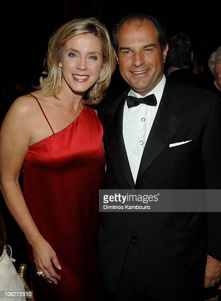 Deborah Norville and Massimo Ferragamo during 9th Annual ACE Awards - Inside at Cipriani in New York City, New York, United States.