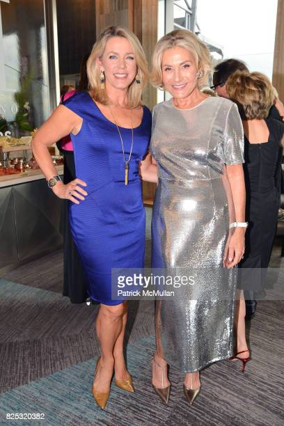 Deborah Norville and Susan Magrino attend Magrino PR 25th Anniversary at Bar SixtyFive at Rainbow Room on July 25 2017 in New York City