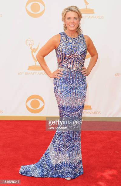 Deborah Norville arrives at the 65th Annual Primetime Emmy Awards at Nokia Theatre LA Live on September 22 2013 in Los Angeles California