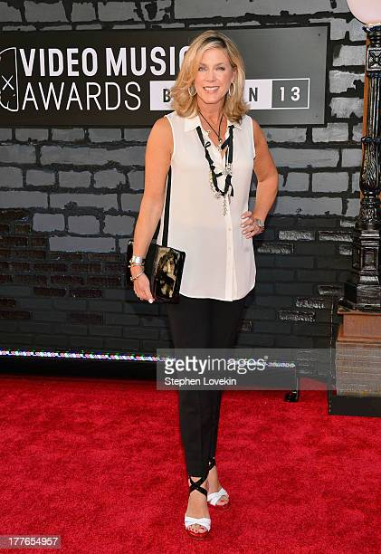 Deborah Norville attends the 2013 MTV Video Music Awards at the Barclays Center on August 25 2013 in the Brooklyn borough of New York City