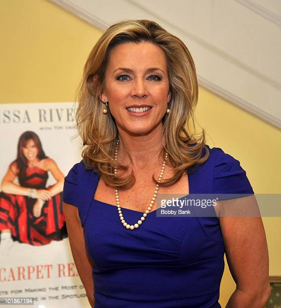 Deborah Norville attends the launch of Melissa Rivers new book 'Red Carpet Ready' in Manhattan on February 2 2010 in New York City