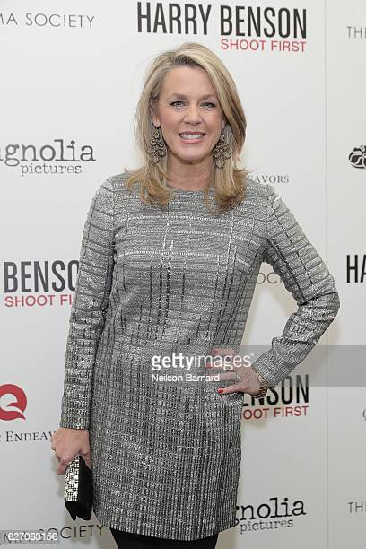 Deborah Norville attends the Magnolia Pictures The Cinema Society host the premiere of 'Harry Benson Shoot First' at the Beekman Theatre on December...