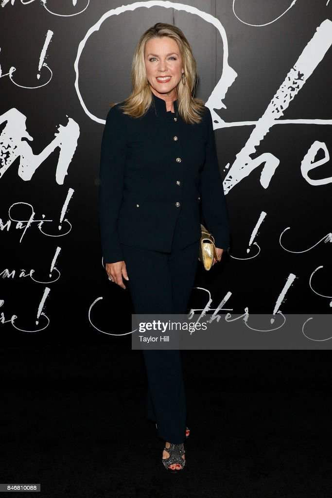 Deborah Norville attends the premiere of 'mother!' at Radio City Music Hall on September 13, 2017 in New York City.